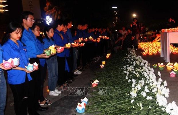 Realizan en Da Nang actividades en recordacion de los muertos por accidentes de trafico hinh anh 1