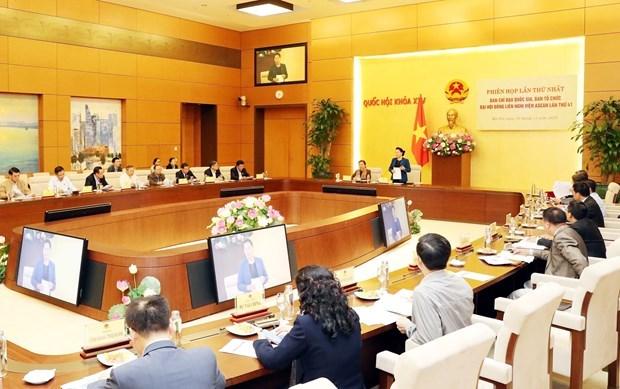 Abordan tareas de Vietnam como presidente de AIPA en 2020 hinh anh 1
