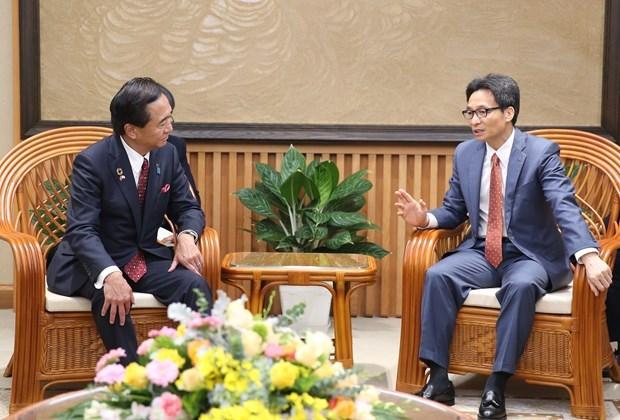Destaca vicepremier de Vietnam importancia de cooperacion con localidades japonesas hinh anh 1
