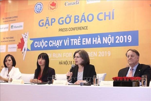 Realizaran carrera caritativa a favor de ninos vietnamitas con cancer y cardiopatia hinh anh 1