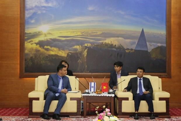 Apuesta provincia vietnamita por fomentar lazos con Israel en formacion de recursos humanos hinh anh 1