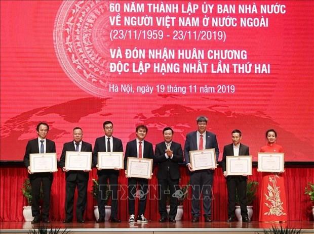 Honran a Comite Estatal de labores relativas a vietnamitas residentes en ultramar hinh anh 1