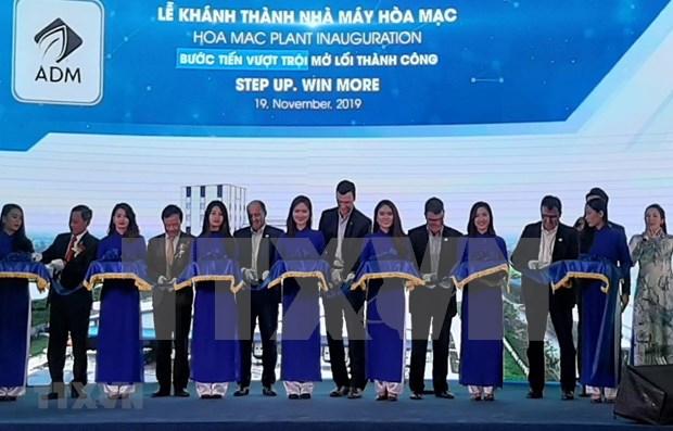 Inaugura grupo estadounidense moderna fabrica de piensos en Vietnam hinh anh 1