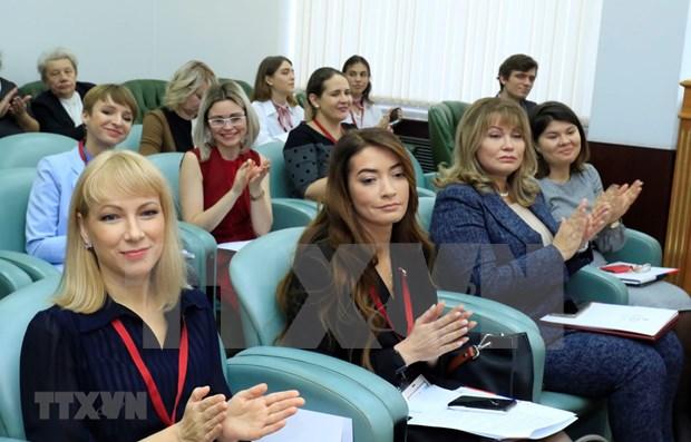 Uniones de mujeres de Vietnam y Rusia intensifican cooperacion hinh anh 1