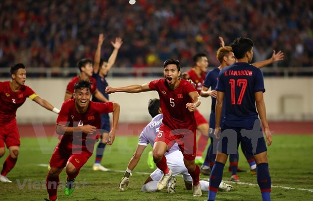 Mantiene Vietnam racha invicta en eliminatoria de Copa Mundial hinh anh 1