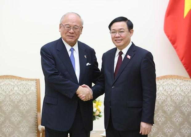 Concede Vietnam importancia a asociacion estrategica con Japon hinh anh 1