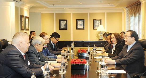 Visita Vietnam delegacion del Partido Comunista de Francia hinh anh 1
