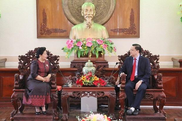Amplia provincia vietnamita de Can Tho la cooperacion con localidades camboyanas hinh anh 1