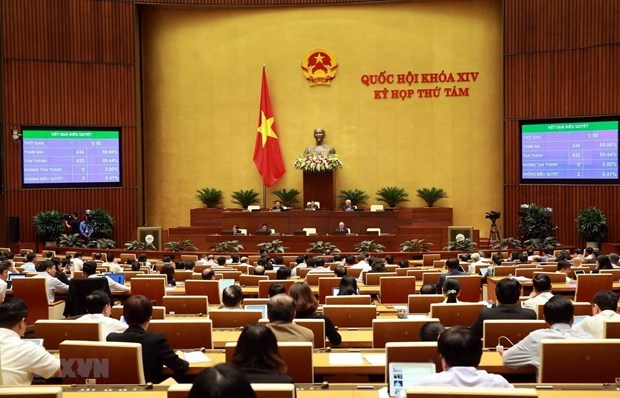 Parlamento vietnamita prosigue octavo perido de sesiones con logros importantes hinh anh 1