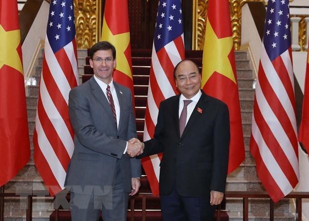 Reafirman apoyo del Gobierno vietnamita a lazos en defensa con EE.UU. hinh anh 1