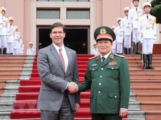 Visita Vietnam secretario de Defensa de Estados Unidos hinh anh 1