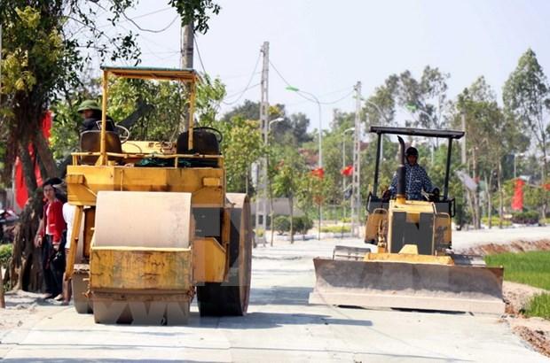 Destino provincia vietnamita de Vinh Phuc mas de 551 millones de dolares para construir nuevas areas rurales hinh anh 1