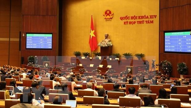 Considera Parlamento de Vietnam aprobacion del Codigo del Trabajo hinh anh 1