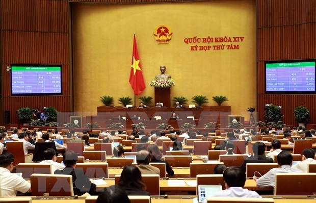 Aprueba Parlamento vietnamita Codigo del Trabajo (enmendado) hinh anh 1