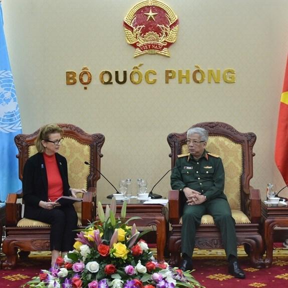 Fortalecen Vietnam y el PNUD lazos en mitigacion de consecuencias de guerra hinh anh 1