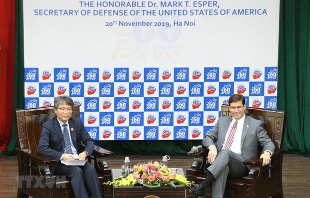Secretario de Defensa de EE.UU. ratifica respaldo a papel de Vietnam en la region hinh anh 1