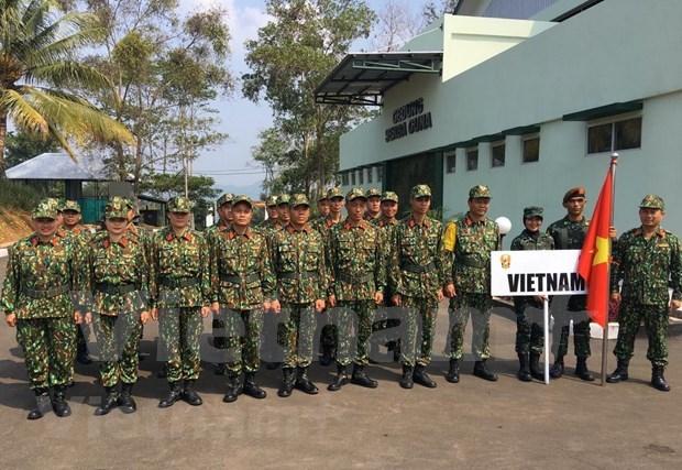 Participa Vietnam en torneo regional de tiro militar hinh anh 1