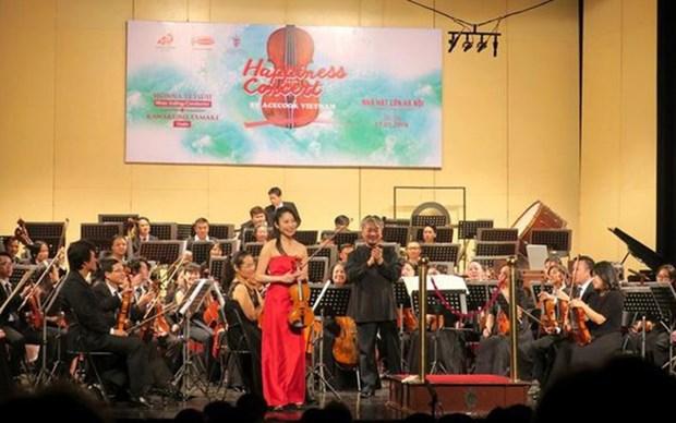 Participaran artistas japoneses en un concierto en Vietnam hinh anh 1