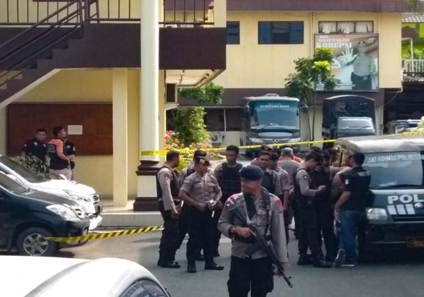 Arrestan en Indonesia a mas de 70 presuntos terroristas tras reciente ataque suicida hinh anh 1