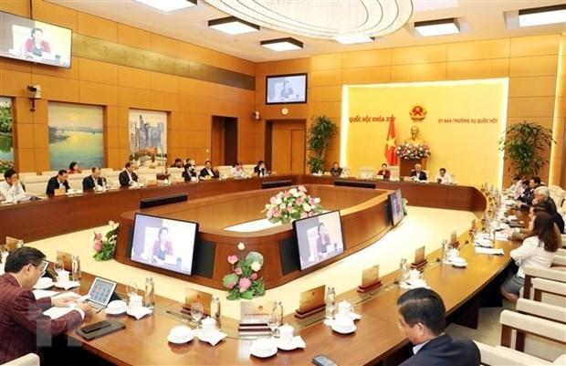 Comite Permanente de la Asamblea Nacional de Vietnam celebra su 39 reunion hinh anh 1