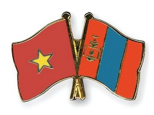 Dirigentes de Vietnam y de Mongolia celebran el aniversario 65 de los lazos binacionales hinh anh 1