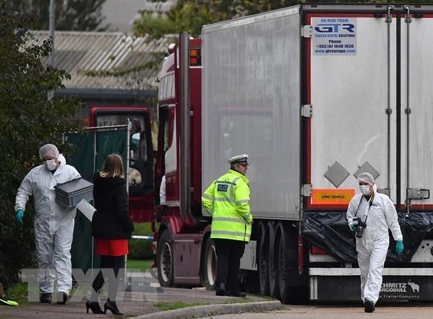 Aclara Vietnam informacion sobre apoyo financiero de Reino Unido para la repatriacion de victimas del camion hinh anh 1