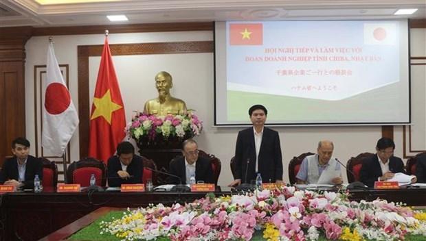 Explora Japon ambiente de inversion en provincia nortena de Vietnam hinh anh 1