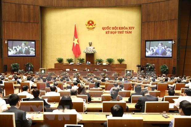 Continua el Parlamento de Vietnam analisis de varios proyectos de leyes hinh anh 1