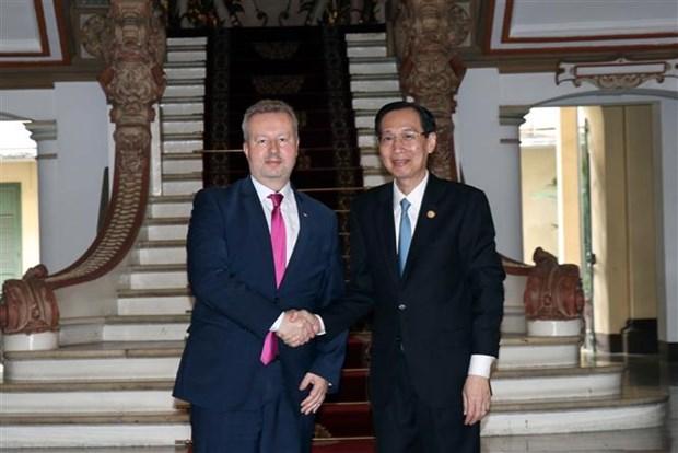 Promueven Ciudad Ho Chi Minh y Republica Checa cooperacion en medio ambiente hinh anh 1