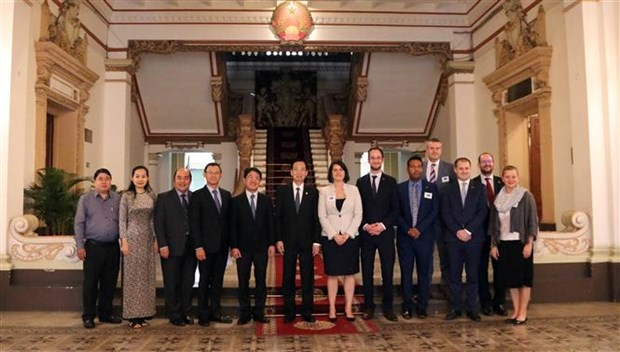 Intensificara Ciudad Ho Chi Minh la cooperacion con Australia hinh anh 1