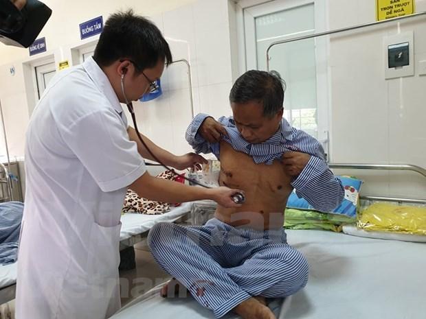 Destacan resultados de Vietnam en la lucha contra la tuberculosis hinh anh 1