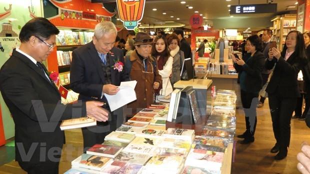 Inauguran primer pabellon de libros vietnamitas en Corea del Sur hinh anh 1