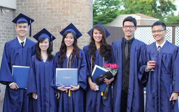 Aumenta el numero de estudiantes vietnamitas en Estados Unidos hinh anh 1