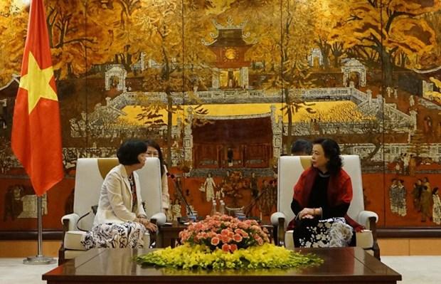 Hanoi y prefectura japonesa de Ibaraki amplian cooperacion bilateral hinh anh 1