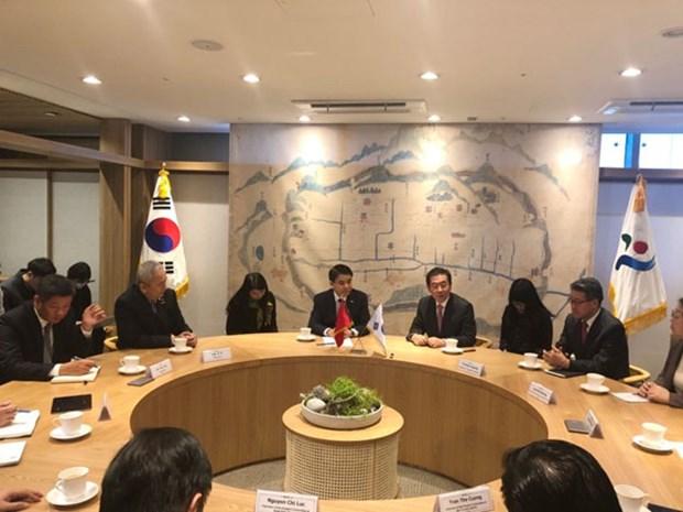 Hanoi busca impulsar la cooperacion con Seul hinh anh 1