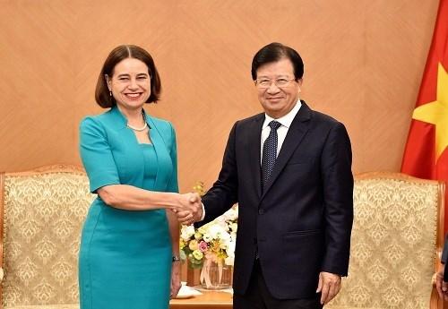Mira Vietnam hacia intercambio comercial de 10 mil millones de dolares con Australia hinh anh 1