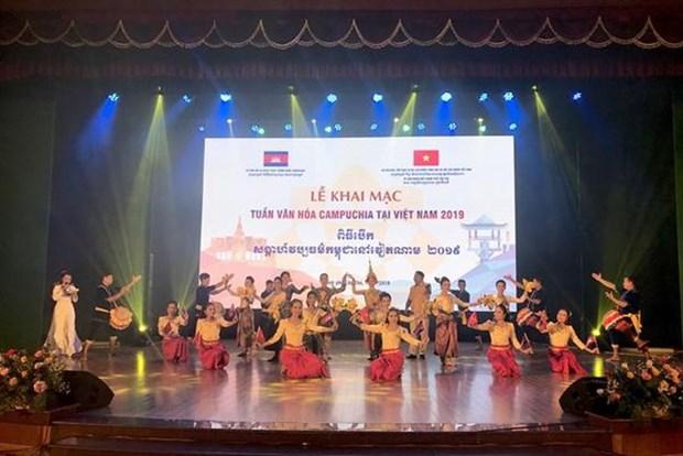 Realizan en Vietnam actividades en el marco de la Semana de Camboya hinh anh 1