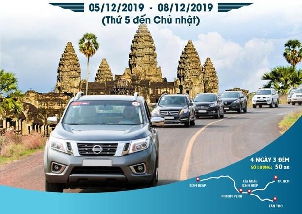 Realizaran en diciembre gran caravana empresarial de Vietnam y Camboya hinh anh 1