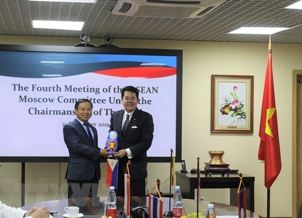 Asume Vietnam presidencia del Comite de la ASEAN en Moscu hinh anh 1