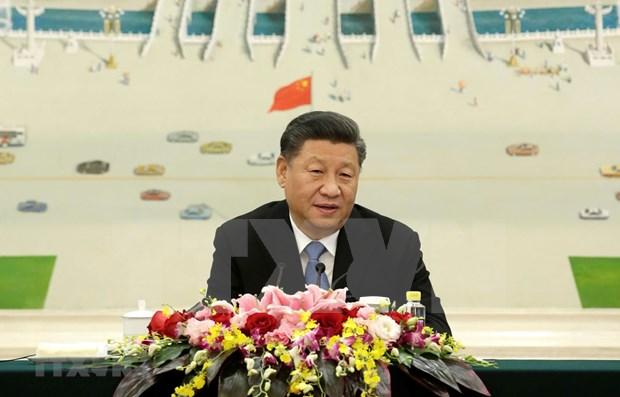Aprecia presidente de China nexos con Vietnam hinh anh 1