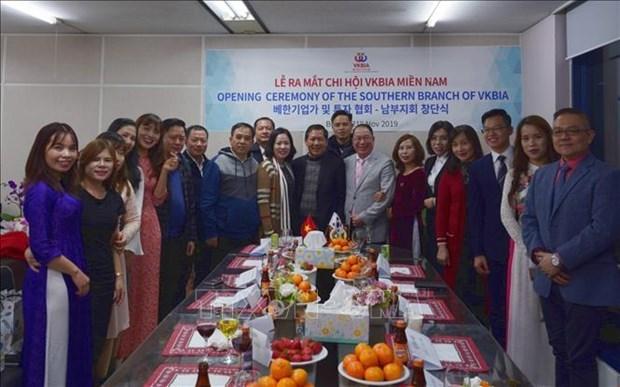Establece Asociacion de Empresarios e Inversionistas Vietnam-Corea del Sur su nueva filial hinh anh 1