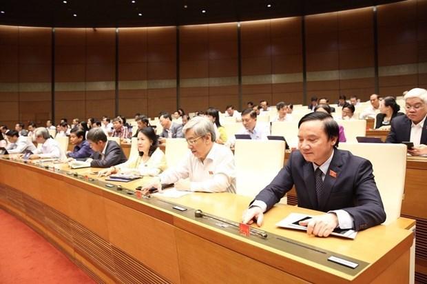 Aprueba el Parlamento de Vietnam reajustes de Leyes Organicas del Gobierno y de los Poderes Locales hinh anh 1