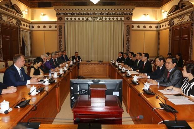 Busca Ciudad Ho Chi Minh ampliar cooperacion con estado aleman de Sajonia-Anhalt hinh anh 1
