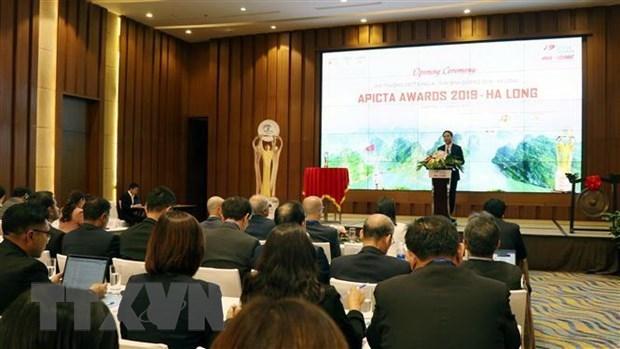 Concluye con exito en Vietnam premio regional de tecnologia de informacion 2019 hinh anh 1