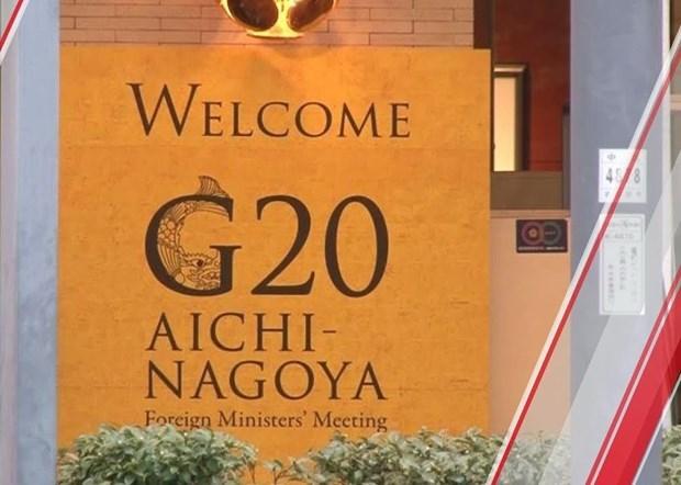 Vietnam participa en Reunion de Ministros de Asuntos Exteriores de G20 hinh anh 1