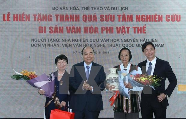 Premier de Vietnam destaca importancia de cultura popular hinh anh 1