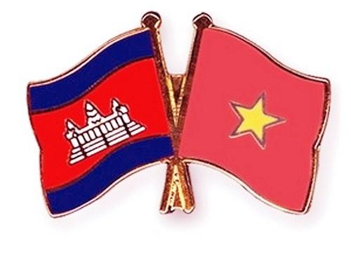 Delegacion de Seguridad Publica de Vietnam realiza visita a Camboya hinh anh 1