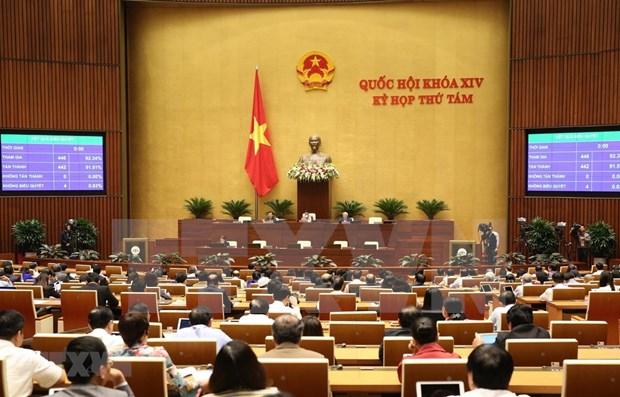 Parlamento de Vietnam cerrara la proxima semana su octavo periodo de sesiones hinh anh 1