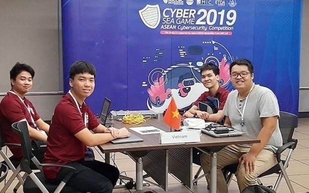 Gana Vietnam segundo premio en competencia regional de Seguridad Cibernetica hinh anh 1