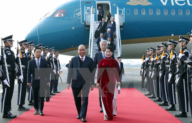 Elogia primer ministro de Vietnam cooperacion entre Corea del Sur y la ASEAN hinh anh 1